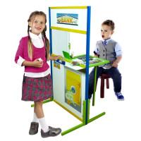 Inlea4Fun detská tabuľa BANKA 110 cm