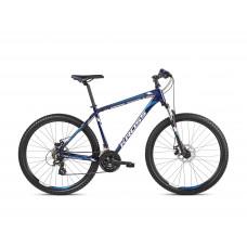 "KROSS MTB Horský bicykel HEXAGON 3.0 19"" M 2021 - lesklý modrý / biely Preview"