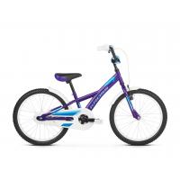 """KROSS Detský bicykel Mini 5.0 10"""" 2019 - lesklý fialový / modrý"""