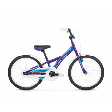 """KROSS Detský bicykel Mini 5.0 10"""" 2019 - lesklý fialový / modrý Preview"""