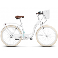 """LE GRAND Utility Dámsky mestský bicykel Lille 3 15"""" S 2019 - lesklý biely"""