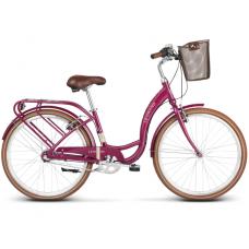 "LE GRAND Utility Dámsky mestský bicykel Lille 3 15"" S 2020 - lesklý ružový Preview"
