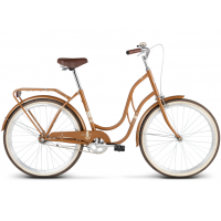 """LE GRAND Classic Dámsky bicykel Madison 1 18"""" M 2019 - lesklý hnedý"""