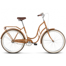 "LE GRAND Classic Dámsky bicykel Madison 1 18"" M 2019 - lesklý hnedý Preview"