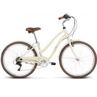 """LE GRAND Comfort Dámsky mestský bicykel Pave 1 16"""" M 2019 - lesklý krémový"""