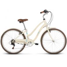 """LE GRAND Comfort Dámsky mestský bicykel Pave 1 14"""" S 2019 - lesklý krémový Preview"""