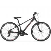 """KROSS  Junior Detský bicykel Evado Jr 1.0 13"""" 2020 - matný čierny / červený / strieborný"""