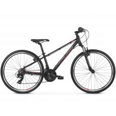 """KROSS  Junior Detský bicykel Evado Jr 1.0 13"""" 2020 - matný čierny / červený / strieborný Preview"""