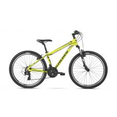 """KROSS MTB Horský bicykel HEXAGON 19"""" M 2020 - lesklý žltý / čierny / sivý Preview"""