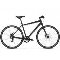 "KROSS Inzai Pánsky mestský bicykel 21"" L 2020 - matný čierny"