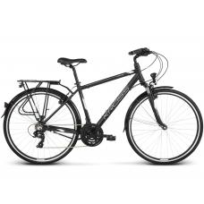 "KROSS Trekking Pánsky bicykel Trans 1.0 17"" S 2020 - matný čierny / biely Preview"