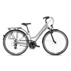 "KROSS Trekking Dámsky bicykel Trans 2.0 SR 21"" L 2020 - sivý/čierny"