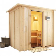Fínska sauna KARIBU SODIN (75698) Preview