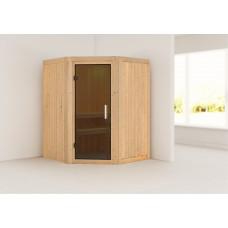 Fínska sauna KARIBU LARIN (75604) Preview