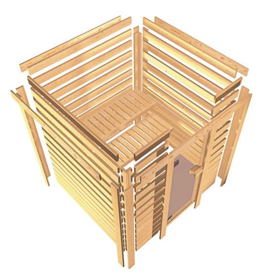 Fínska sauna KARIBU SANDRA (6160)