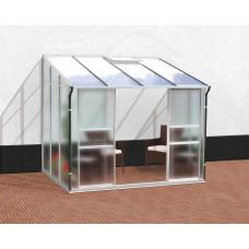 VITAVIA IDA skleník 5200 matné sklo 4mm + PC 6 mm strieborný Preview