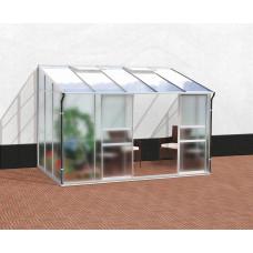 VITAVIA IDA skleník 6500 matné sklo 4 mm +PC 6 mm strieborný Preview