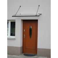 LANITPLAST strieška nad dvere TURKUS 140/85 - Antracit