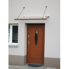 LANITPLAST strieška nad dvere TURKUS 140/85 - Hnedá Preview