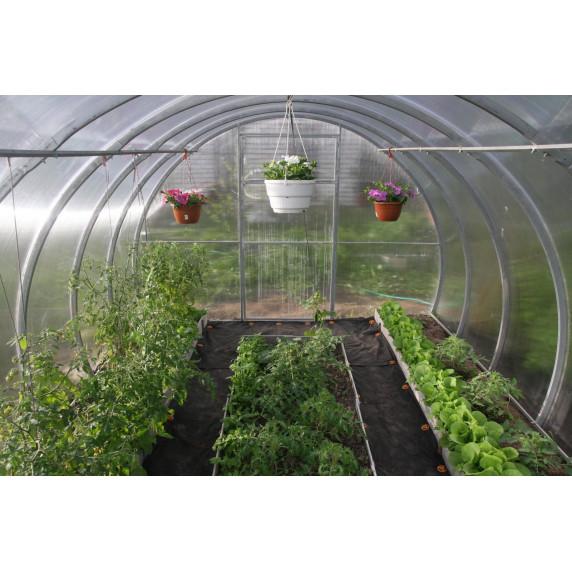 LANITPLAST skleník DNEPR 3,14x4 m PC 4 mm