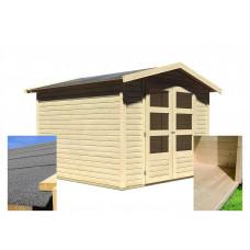 Drevený domček KARIBU AMBERG 4 (14440) SET Preview
