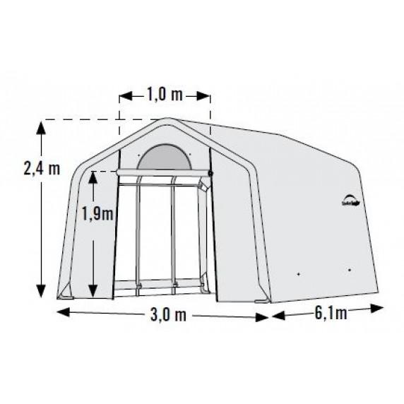 Fóliovník 3 x 6,1 m - 35 mm SHELTERLOGIC