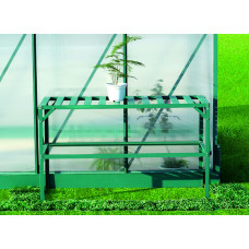LANITPLAST AL regál jednopolicový 126x50 cm - Zelený Preview