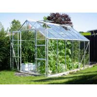 VITAVIA URANUS skleník 9900 číre sklo 3 mm strieborný