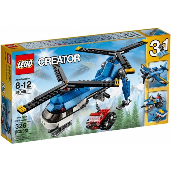LEGO Creator - Vrtulník s dvomi vrtulami 31049
