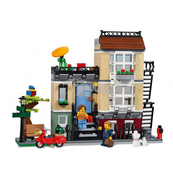 LEGO Creator - Mestský dom so záhradkou 31065