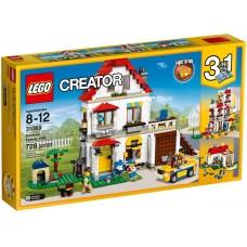 LEGO Creator - Modulárna rodinná vila 31069 Preview