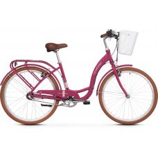 """LE GRAND Utility Dámsky mestský bicykel Lille 3 17"""" M 2021 - matný ružový Preview"""