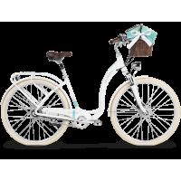 """LE GRAND Utility Dámsky mestský bicykel Lille 7 19"""" 2019 - biely"""