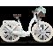 """LE GRAND Utility Dámsky mestský bicykel Lille 7 19"""" L 2020 - biely"""
