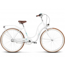 """LE GRAND Classic Dámsky bicykel Madison 3 18"""" 2020 - biely"""