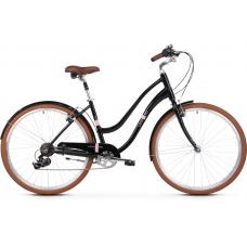 """LE GRAND Comfort Dámsky mestský bicykel Pave 2 16"""" S 2020 - čierny Preview"""