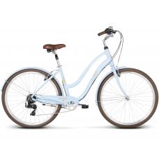 """LE GRAND Comfort Dámsky mestský bicykel Pave 2 18"""" M 2020 - modrý Preview"""