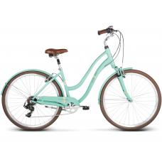 """LE GRAND Comfort Dámsky mestský bicykel Pave 3 16"""" S 2020 - seladon zelený Preview"""