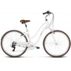 """LE GRAND Comfort Dámsky mestský bicykel Pave 3 16"""" S 2020 - biely Preview"""