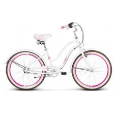 "LE GRAND Junior Detský bicykel Sanibel Jr 14"" 2020 - biely / ružový Preview"