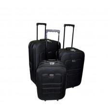 Linder Exclusiv EVA cestovné kufre MC3030 S,M,L - Čierny Preview
