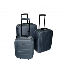 Linder Exclusiv EVA cestovné kufre MC3031 S,M,L - Sivý Preview