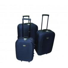 Linder Exclusiv EVA cestovné kufre MC3029 S,M,L - Modrý Preview