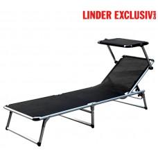 Záhradné lehátko Linder Exclusiv GARDEN KING MC372310S Black Preview