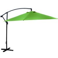 LINDER EXCLUSIV záhradný konzolový slnečník 300 cm Lime Green