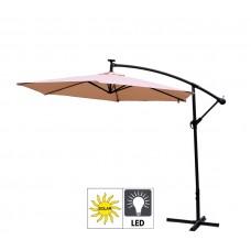 AGA záhradný konzolový slnečník EXCLUSIV LED 300 cm Beige Preview