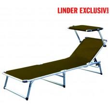 Záhradné lehátko Linder Exclusiv GARDEN KING MC372310SB Brown Preview