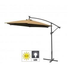 AGA záhradný konzolový slnečník EXCLUSIV LED 300 cm Coffee  Preview