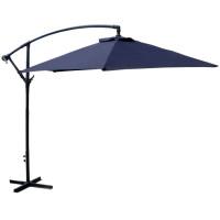LINDER EXCLUSIV záhradný konzolový slnečník 300 cm Blue