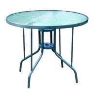 Záhradný stôl DIA 70 cm x Ø90 cm MC90